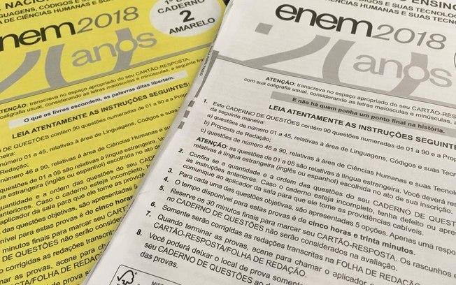 Inep divulga nesta quarta-feira gabaritos oficiais do Enem