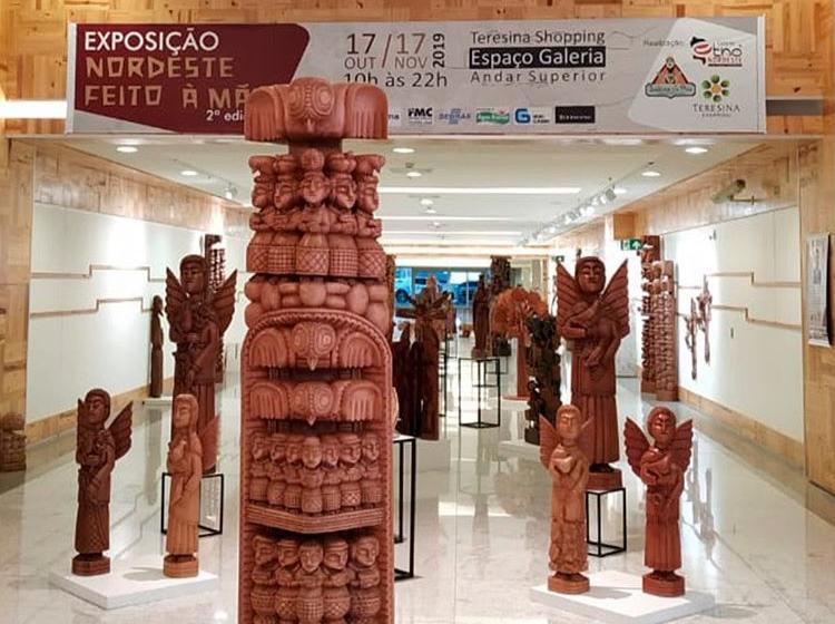 Exposição Nordeste Feito à Mão reúne obras de 98 artistas nordestinos