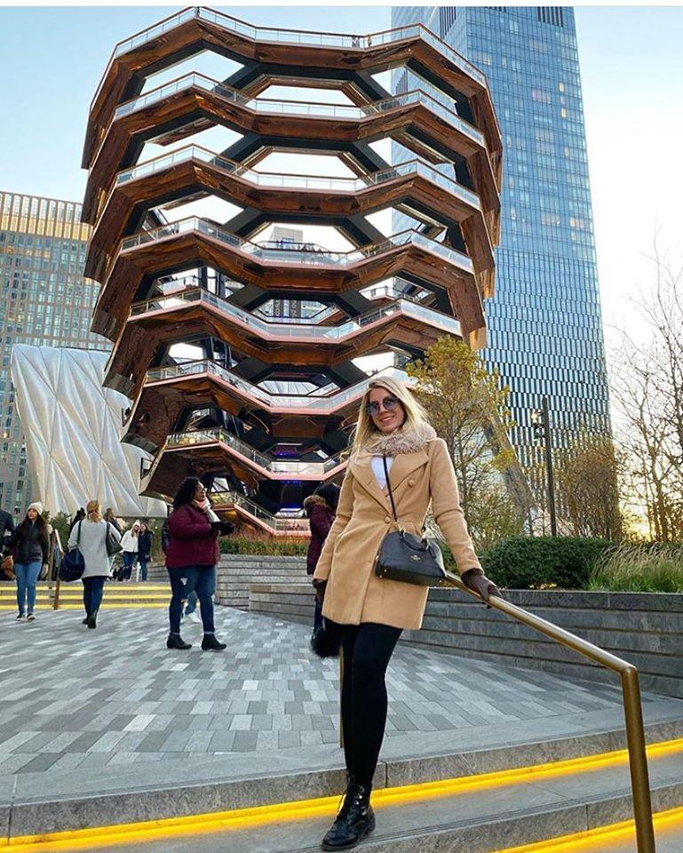 A Força da Notícia: Mariana Zanovello visitando New York
