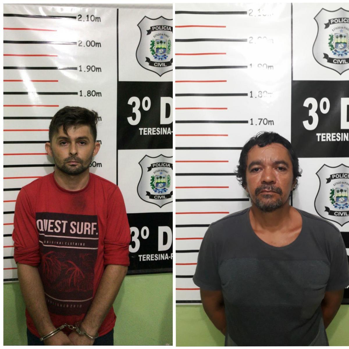 SSP cumpre mandado de prisão a dois homens na manhã de terça-feira (19)