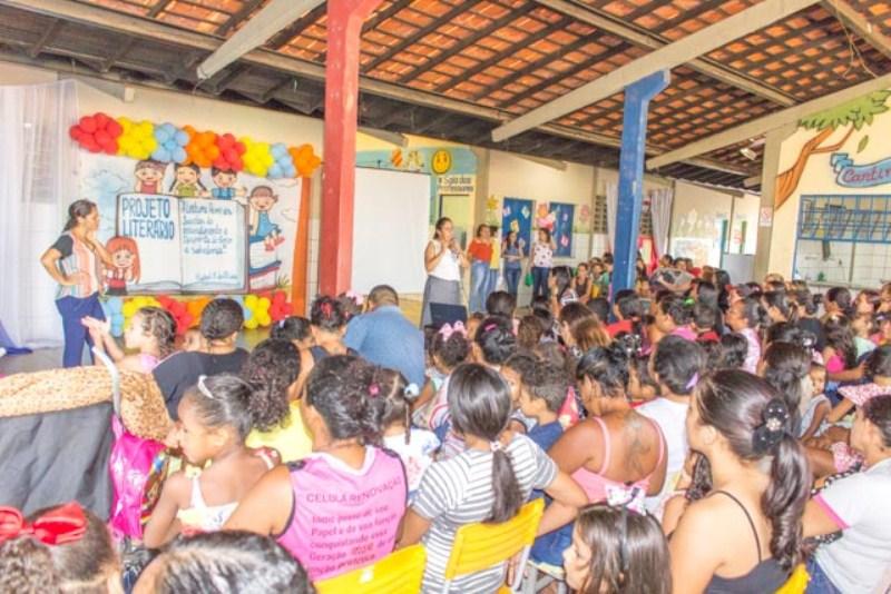 CMEI trabalha projeto sobre os escritores da literatura infantil
