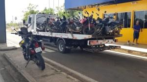 Operação Cavalo de Aço apreende quase 40 motocicletas irregulares em três municípios piauienses