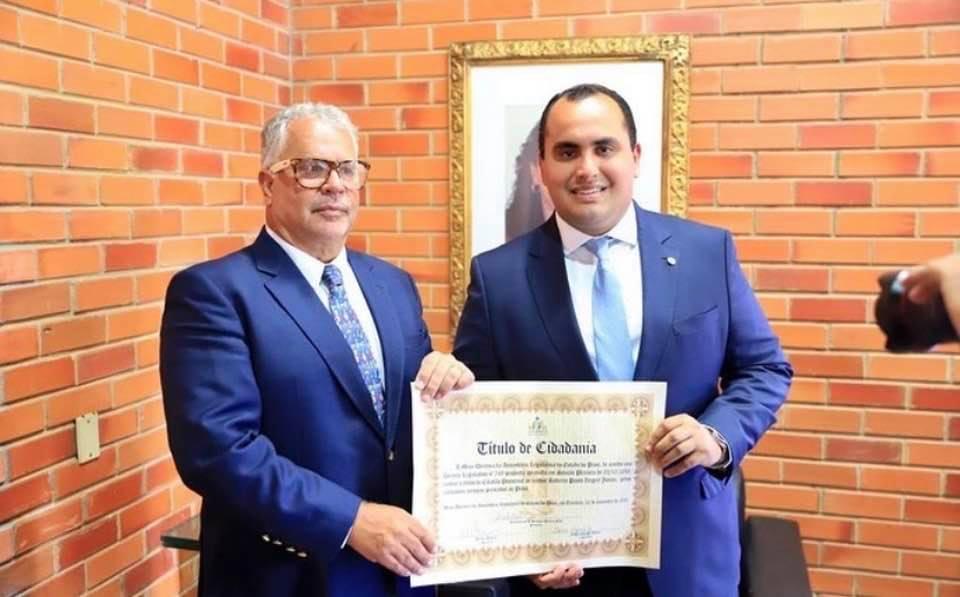 A Força da Notícia: Roberto Ziegert, recebe título de Cidadão do Piauí