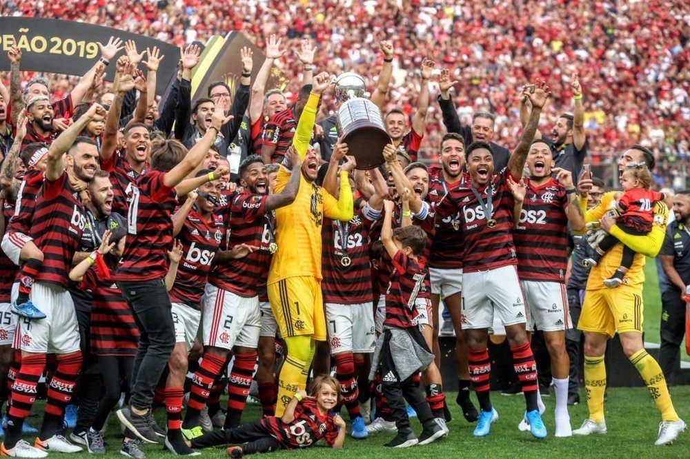 Flamengo vira sobre River Plate e é bicampeão da Libertadores