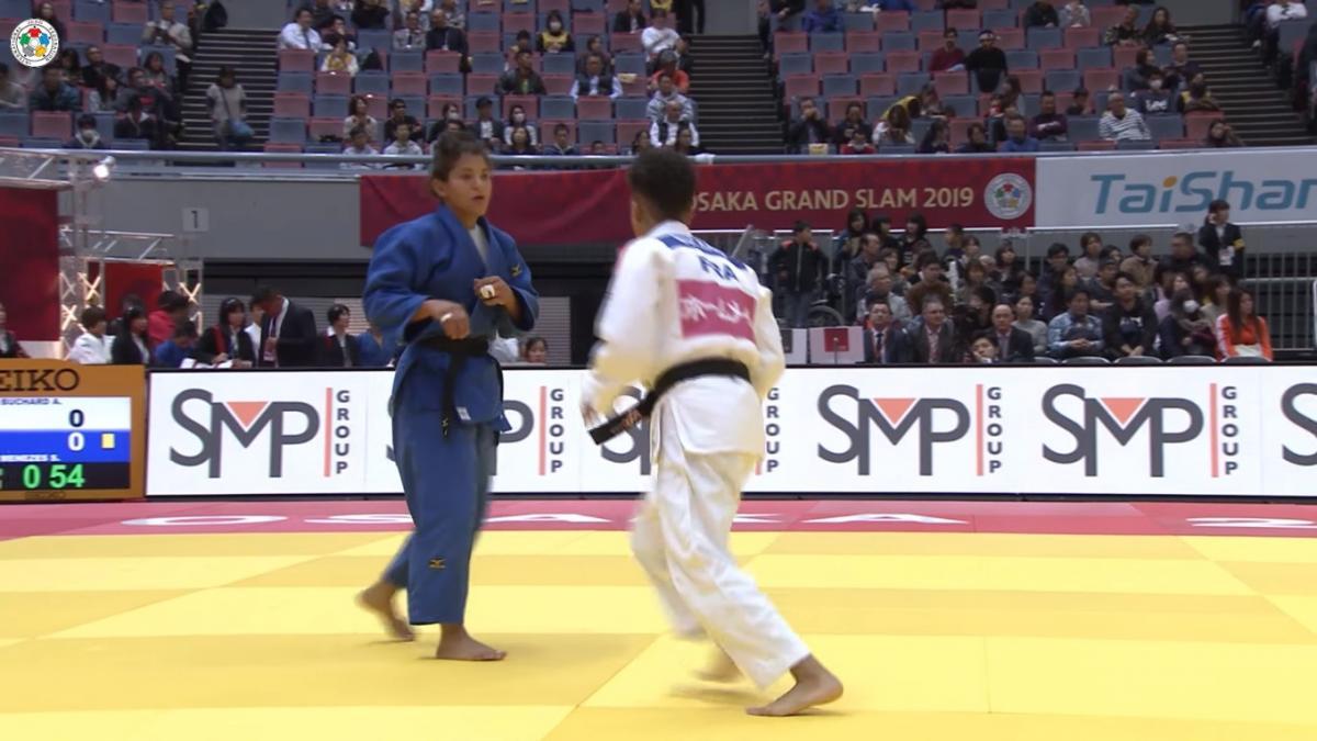 Em disputa após voltar de cirurgia, Sara Menezes perde nas oitavas do Grand Slam de Osaka
