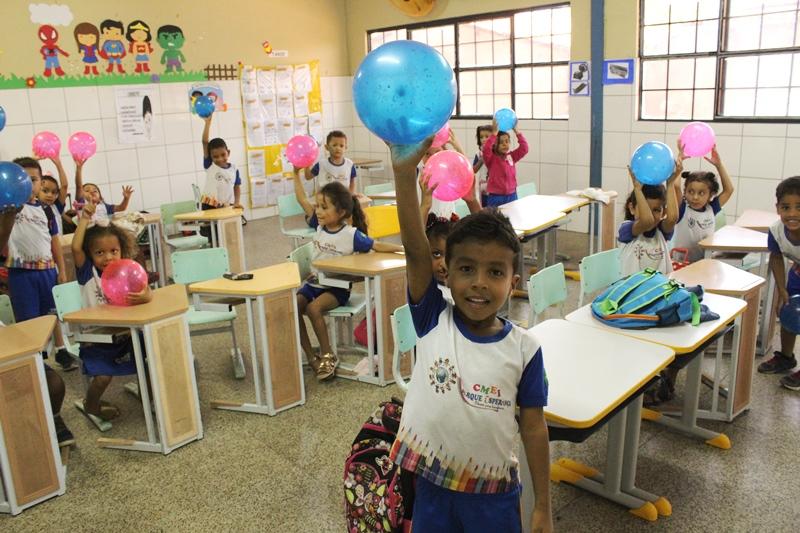 Renovação de matrículas em escolas municipais inicia nesta segunda (02)