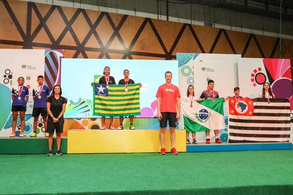 Piauí encerra Jogos Escolares da Juventude com 18 medalhas