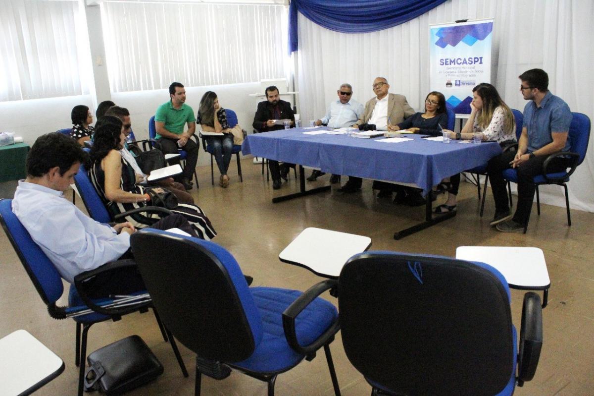 Reunião do Conade discutiu políticas de acessibilidade hoje (4) em Teresina
