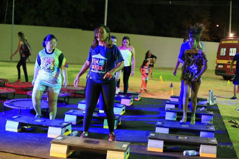 Sesc Piauí leva atividades esportivas para a programação do Vem Pro Parque