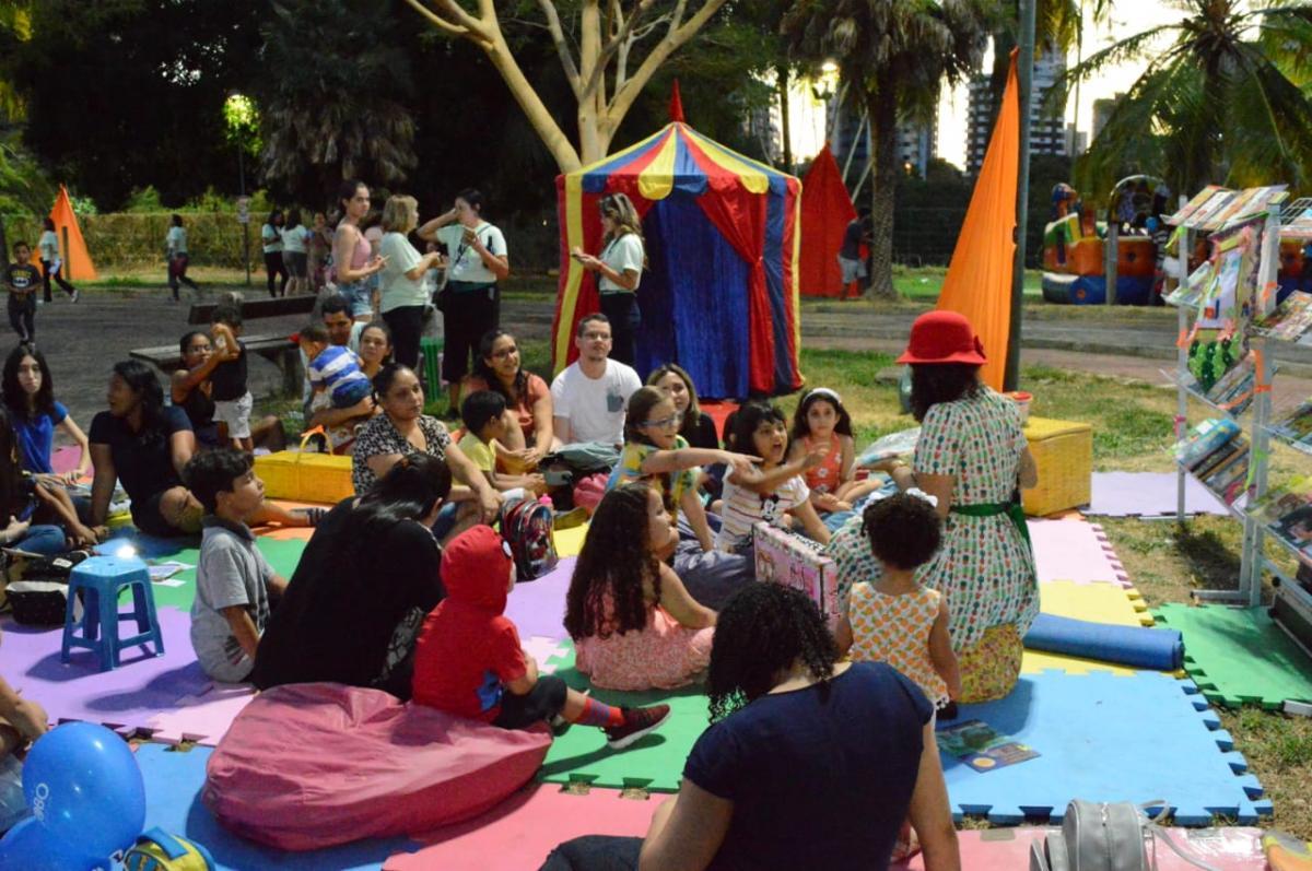 Sesc realiza atividades infantis no Vem pro Parque