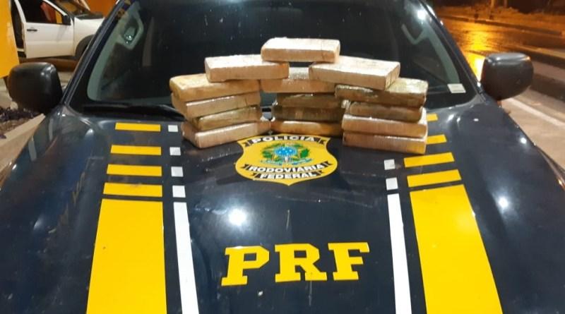 Traficante foi preso pela PRF após apreensão de 15kg de cocaína