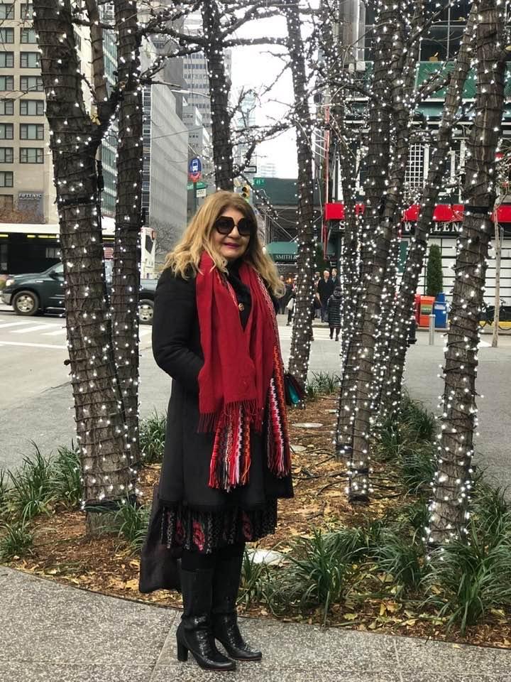 A Força da Notícia: Marlucia Costa, em  New York