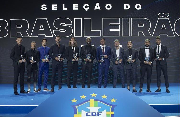 Flamengo domina a seleção do brasileirão