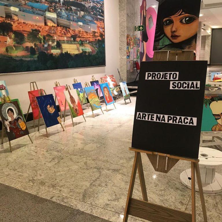 Projeto Arte na Praça realiza exposição até o dia 20 no Teresina Shopping