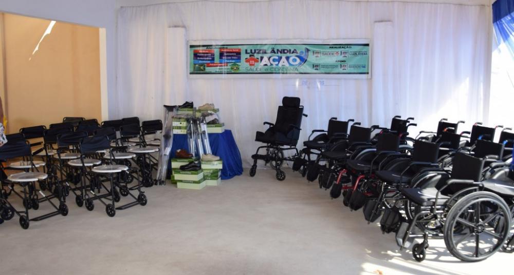 Sesapi entregará 520 equipamentos ortopédicos no município de Canto do Buriti /PI