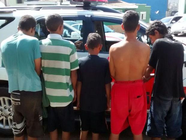 Operação apreende menores que 'tocavam o terror' no Sul do Piauí