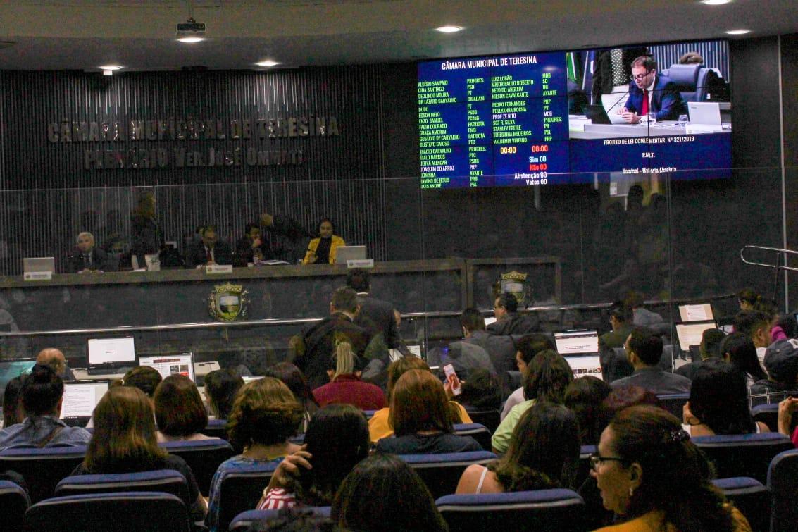 Câmara aprova lei de reajuste salarial dos guardas municipais e conselheiros tutelares