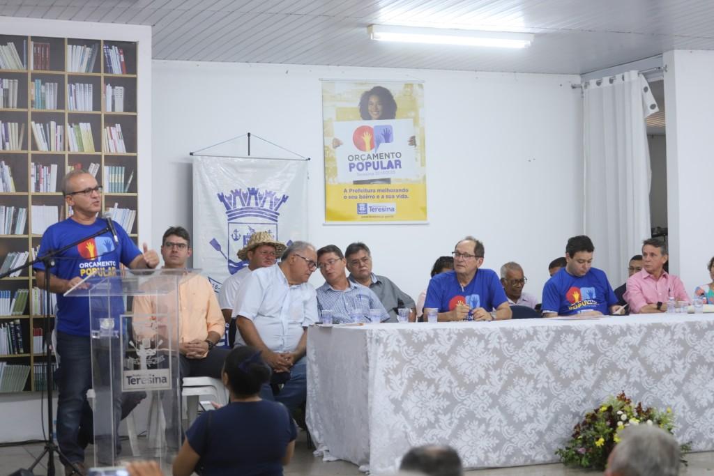 Prefeito Firmino Filho sanciona Lei do Orçamento Popular e lança investimentos para 2020