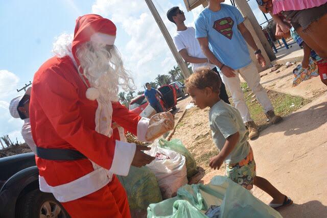 Campanha 'Natal da Gente' promove Rapel Solidário e arrecada doações