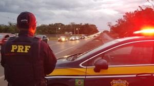 PRF registra redução de mortes nas rodovias federais no feriado de fim de ano
