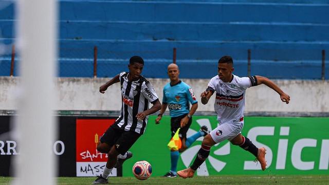 River-PI vence Atlético-MG na estreia da Copa São Paulo de Futebol Júnior