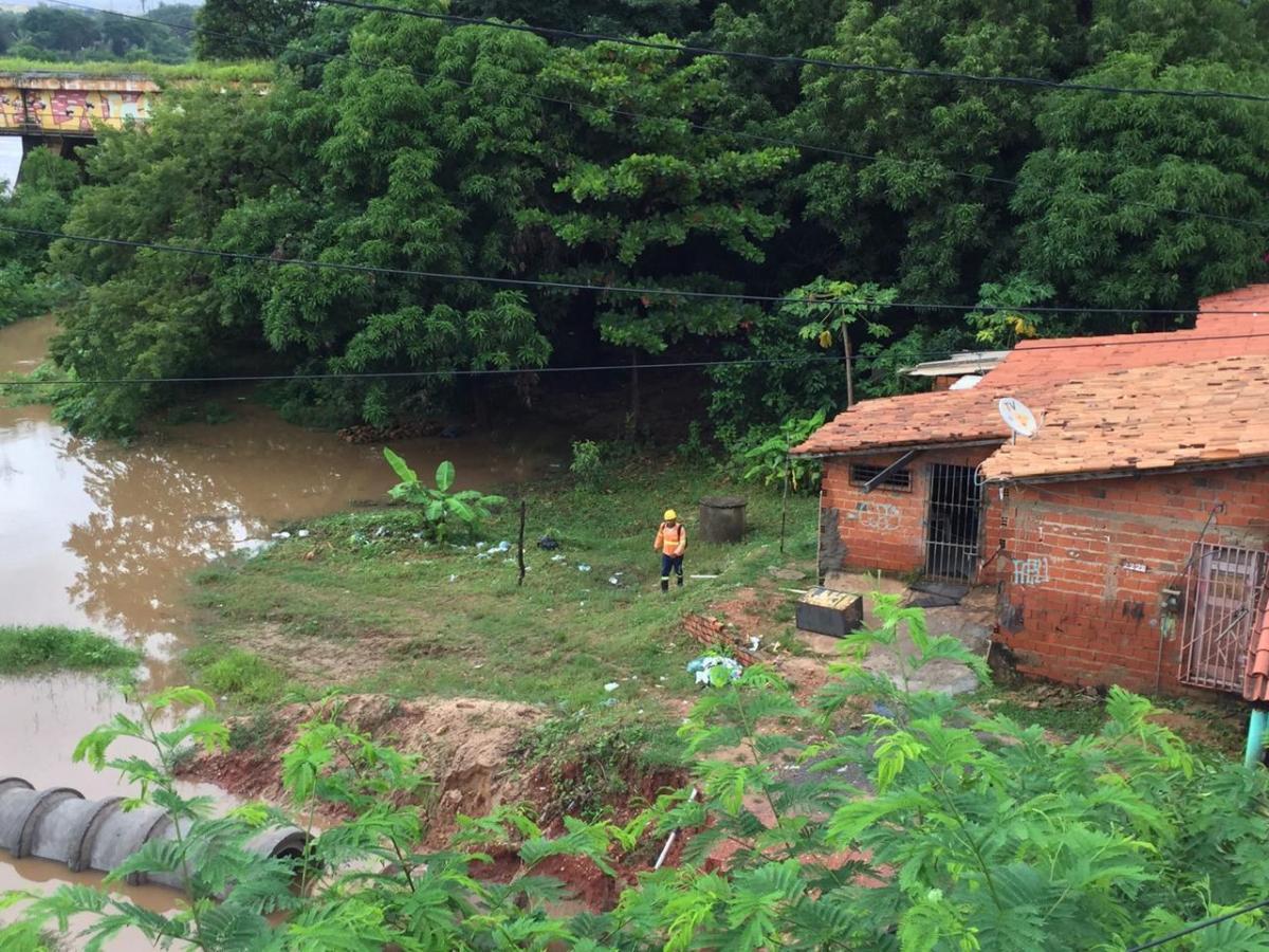 Defesa Civil monitora regiões mais afetadas pelas chuvas