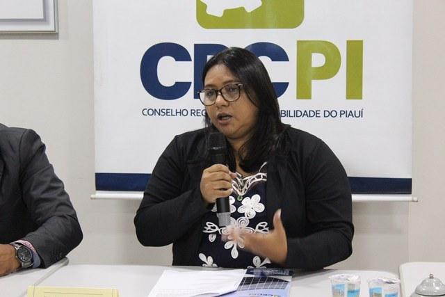 Contadora é eleita primeira mulher presidente do CRC-PI