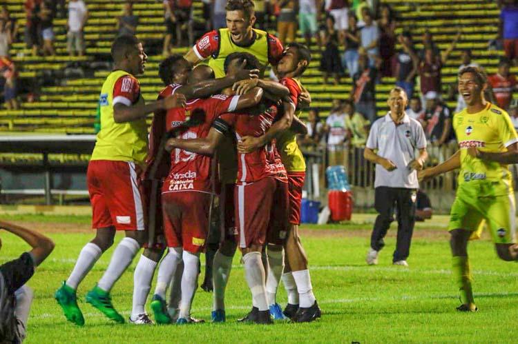 Gosto de vitória: River empata no finalzinho com o Sampaio Correa