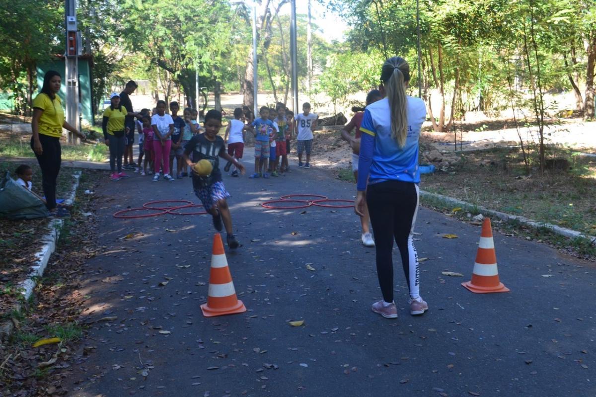 Semel realiza colônias de férias em parques ambientais da capital