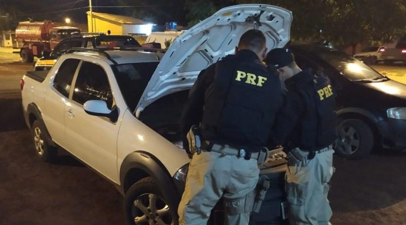PRF recupera veículo com registro de roubo na BR 135