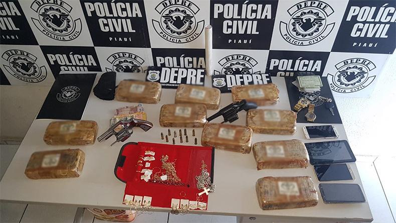 Mulher é presa com 10 kg de cocaína na zona Leste de Teresina