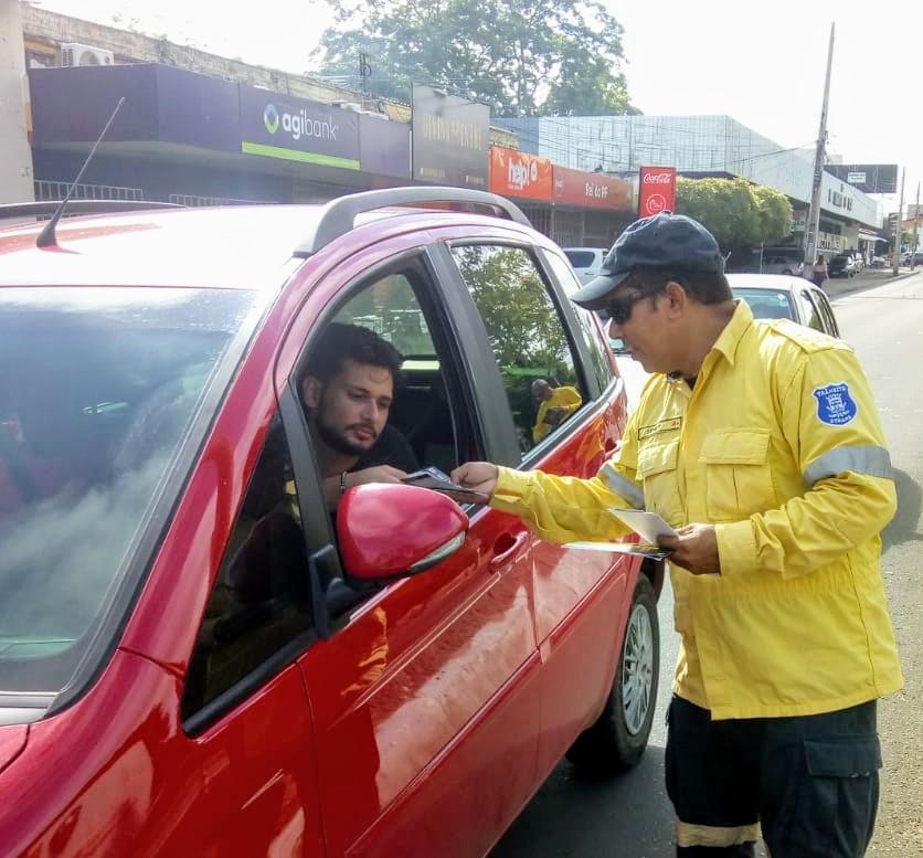 Campanha educativa da Strans conscientiza motoristas sobre trânsito seguro