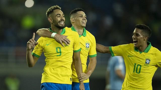 Brasil vence Uruguai por 3 a 1 no Pré-Olímpico