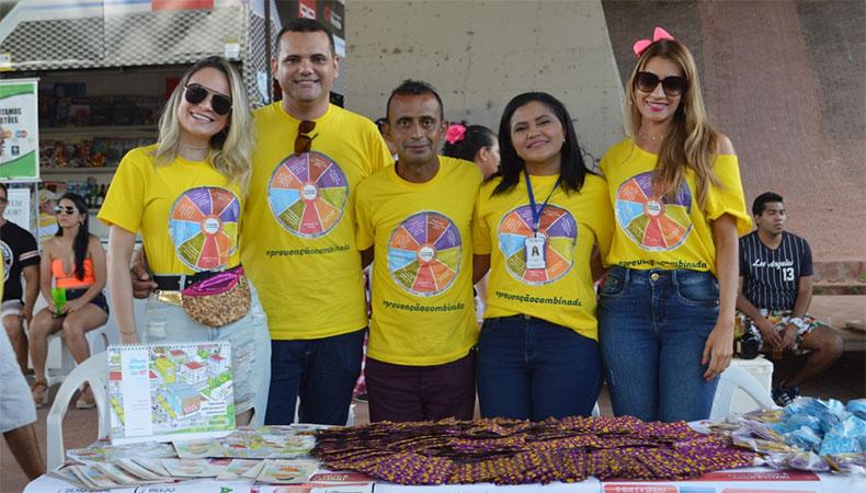 FMS realiza campanha de prevenção às Infecções Sexualmente Transmissíveis