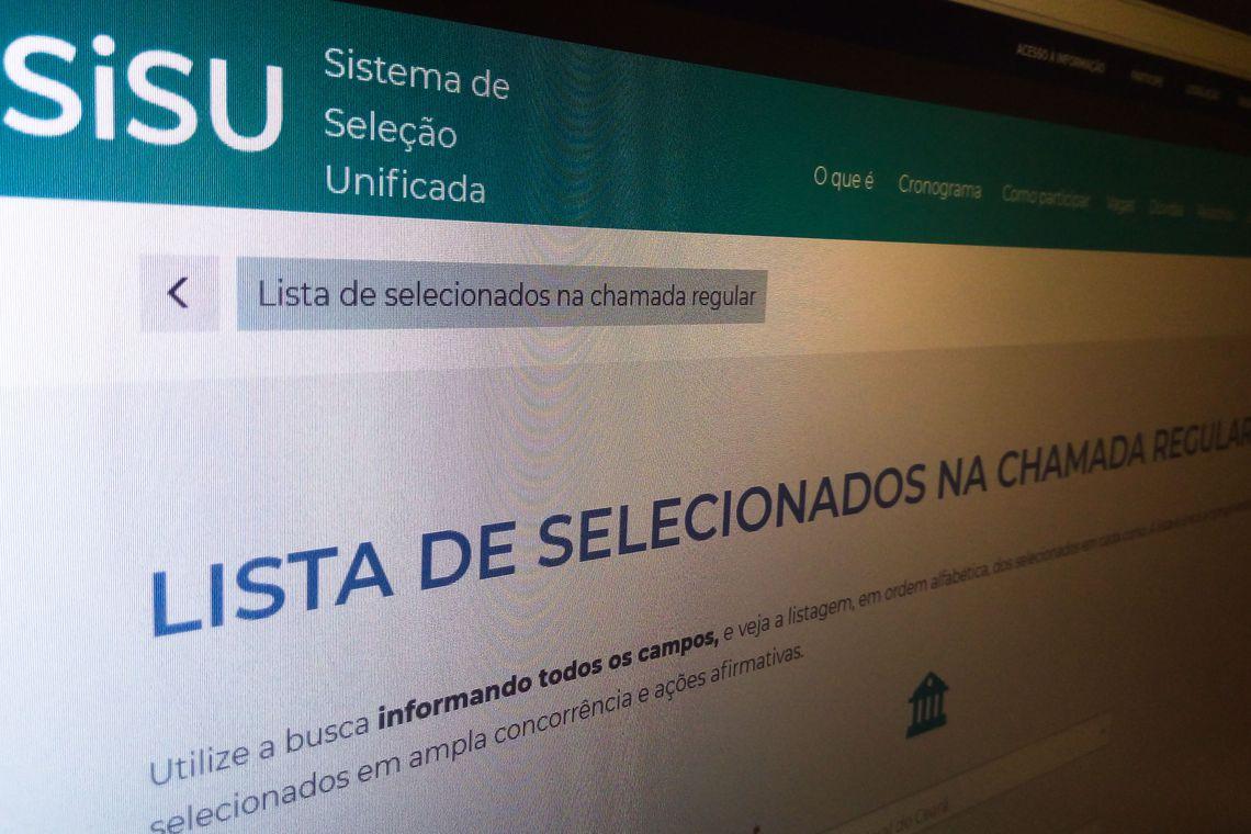 MEC libera acesso ao resultado do Sisu