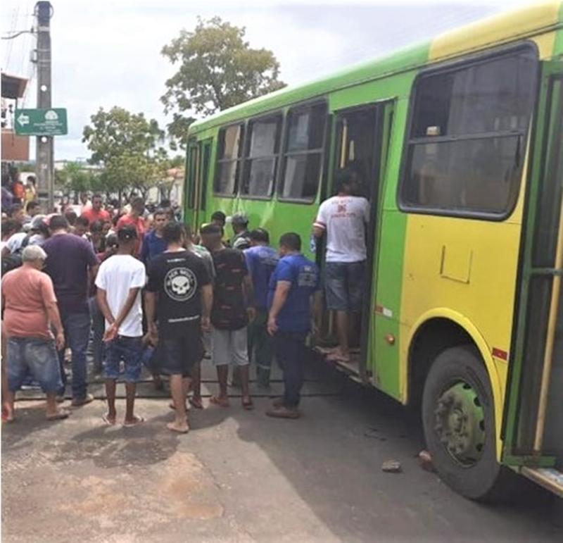 Idosa é atropelada por ônibus na zona sul de Teresina