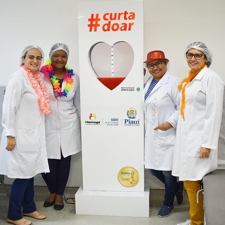 Hemopi realiza campanha para incentivar doações na semana que antecede o Carnaval
