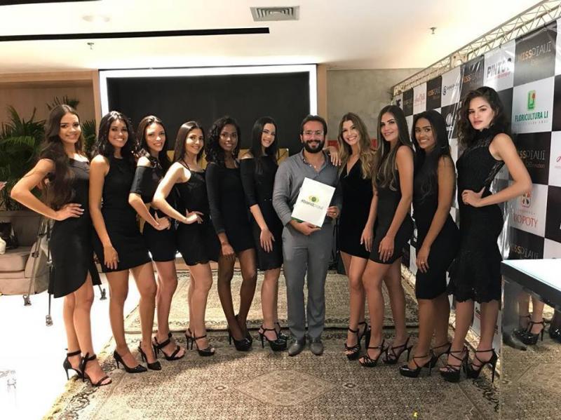 Coletiva apresenta as 15 finalistas do concurso Miss Piauí 2018