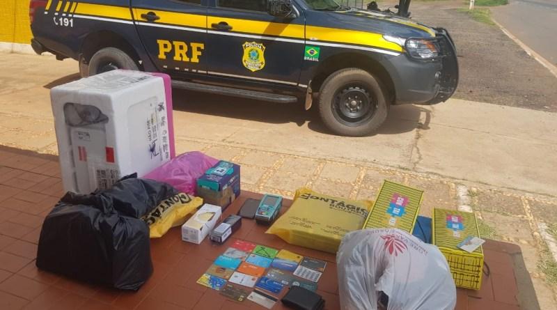 Casal de estelionatários foi preso durante fiscalização da PRF na BR 316