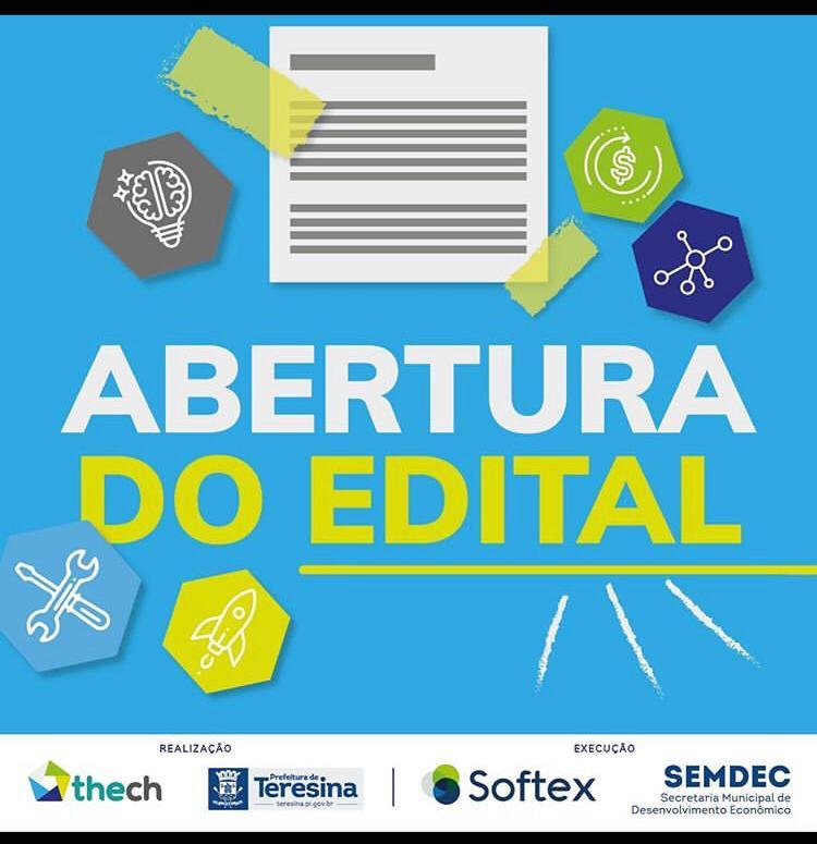 THEch: Prefeitura abre edital para seleção de equipes e startups nesta sexta (21)