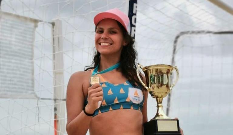 Atleta piauiense de beach handball conquista medalha de ouro na Austrália