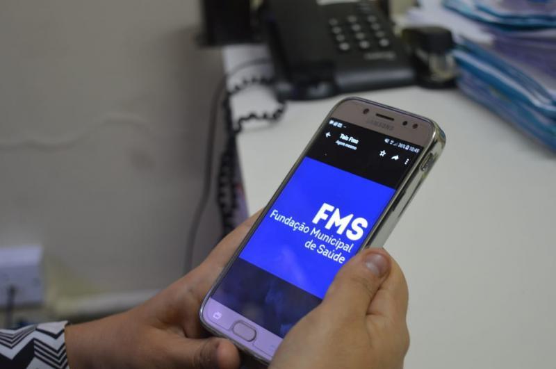 FMS cria aplicativo para emitir alerta que lembra o usuário das consultas