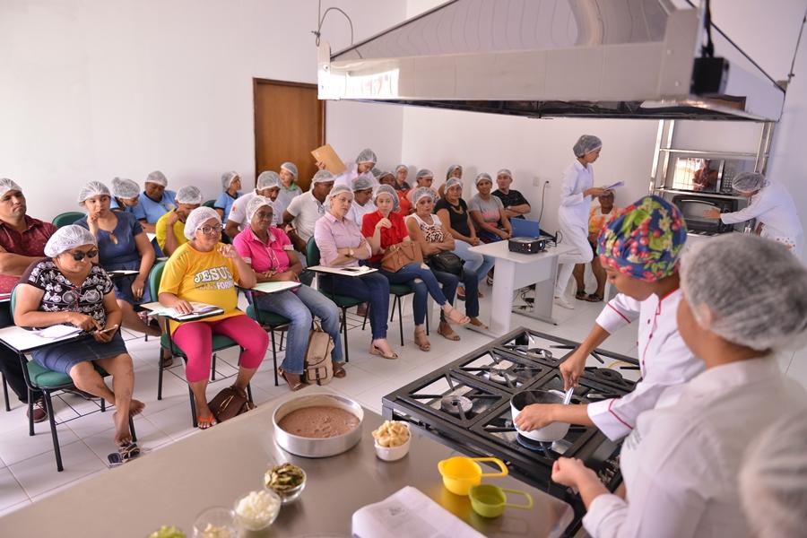 Nova Ceasa realiza oficina gastronômica nesta quinta (12)