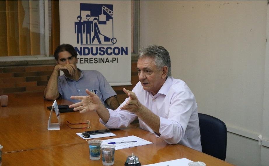 Setor produtivo se reúne com Firmino Filho para avaliar impacto da crise do Coronavírus