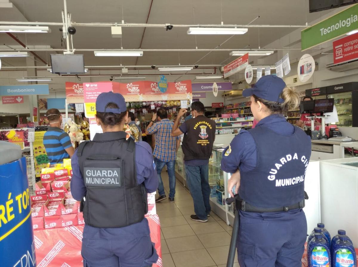 Guarda Municipal interdita três unidades das Lojas Americanas em Teresina