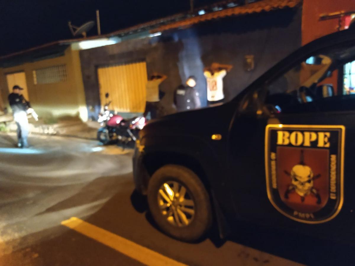 Polícia realiza fiscalização para cumprimento do decreto de quarentena