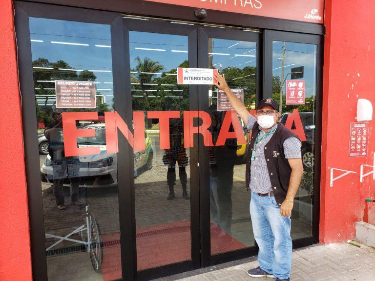 Lojas são multadas em R$ 9 mil em Teresina por descumprirem decreto