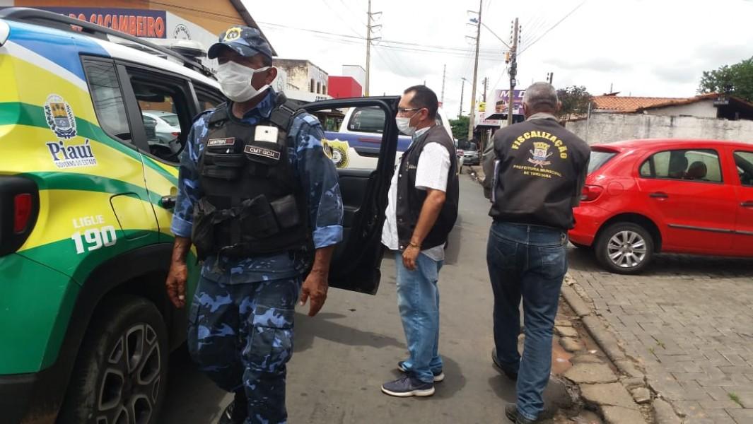 Polícia Militar realiza barreiras sanitárias e intensifica atuação na capital e no interior