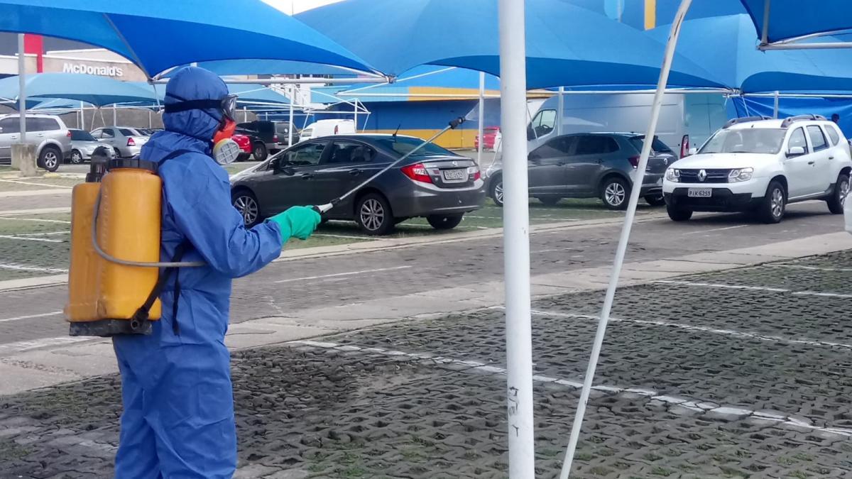 287 ações de sanitização foram realizadas pela Prefeitura de Teresina