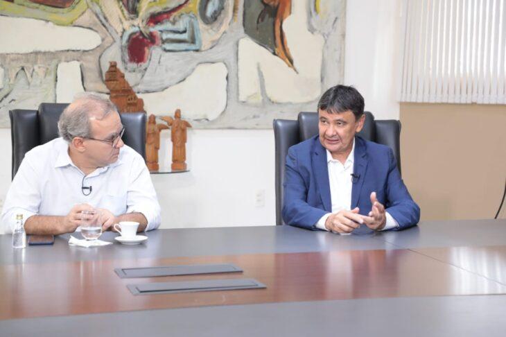 Wellington Dias e Firmino Filho reforçam importância de isolamento na pandemia